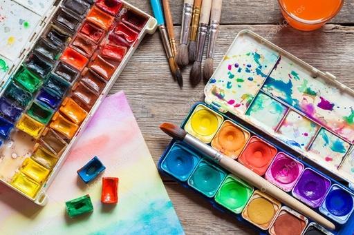 Что не забыть взять в школу юному художнику?!
