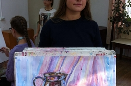 2 место - Гришина Екатерина, преп. Хисамутдинова М. К.