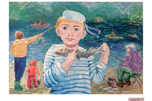 Выставка детских работ в Японии